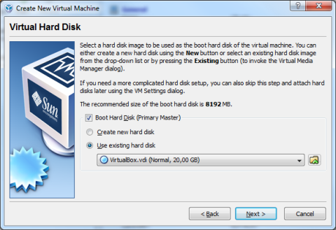 VirtualBox Setup 4